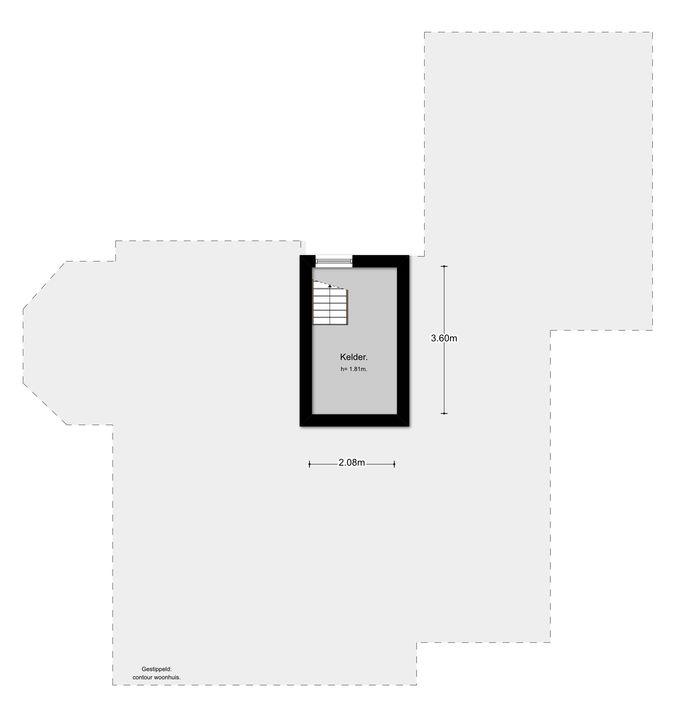 Soesterbergsestraat 152, Soest plattegrond-