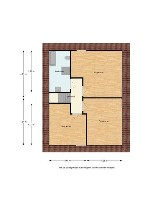 Vilstersestraat 2 B, Lemelerveld plattegrond-