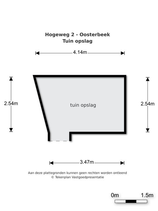 Hogeweg 2, Oosterbeek plattegrond-