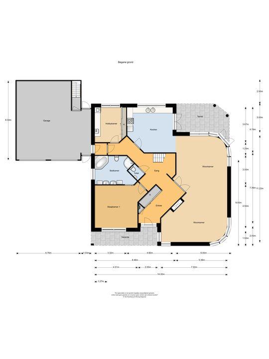 Esdoornlaan 1, Soest plattegrond-