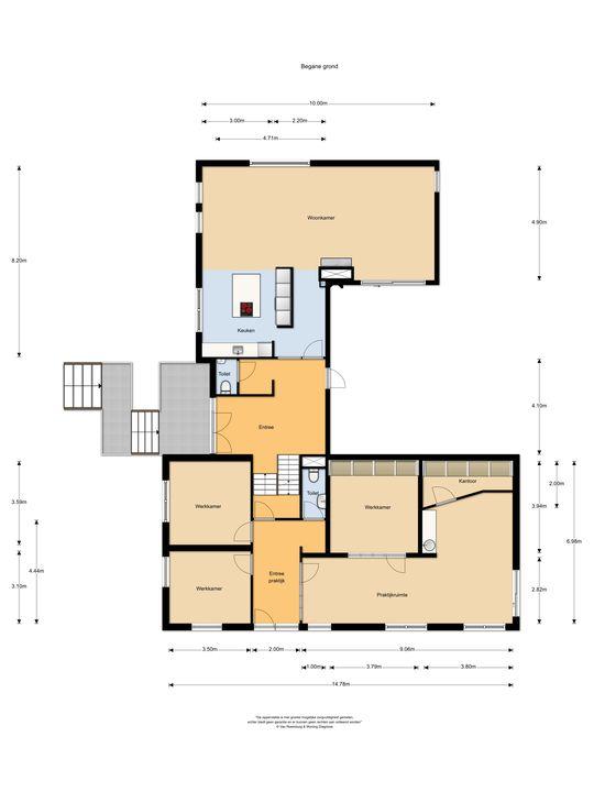 Margrietlaan 21, Soest plattegrond-