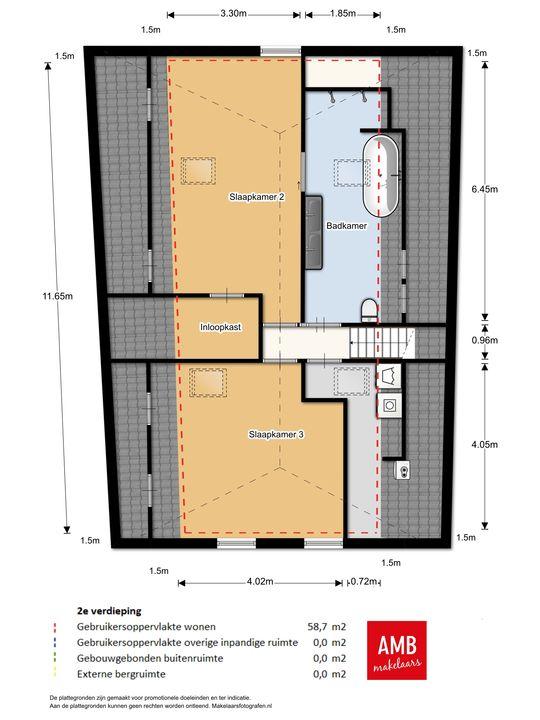 Waterpoort 24, Heusden plattegrond-