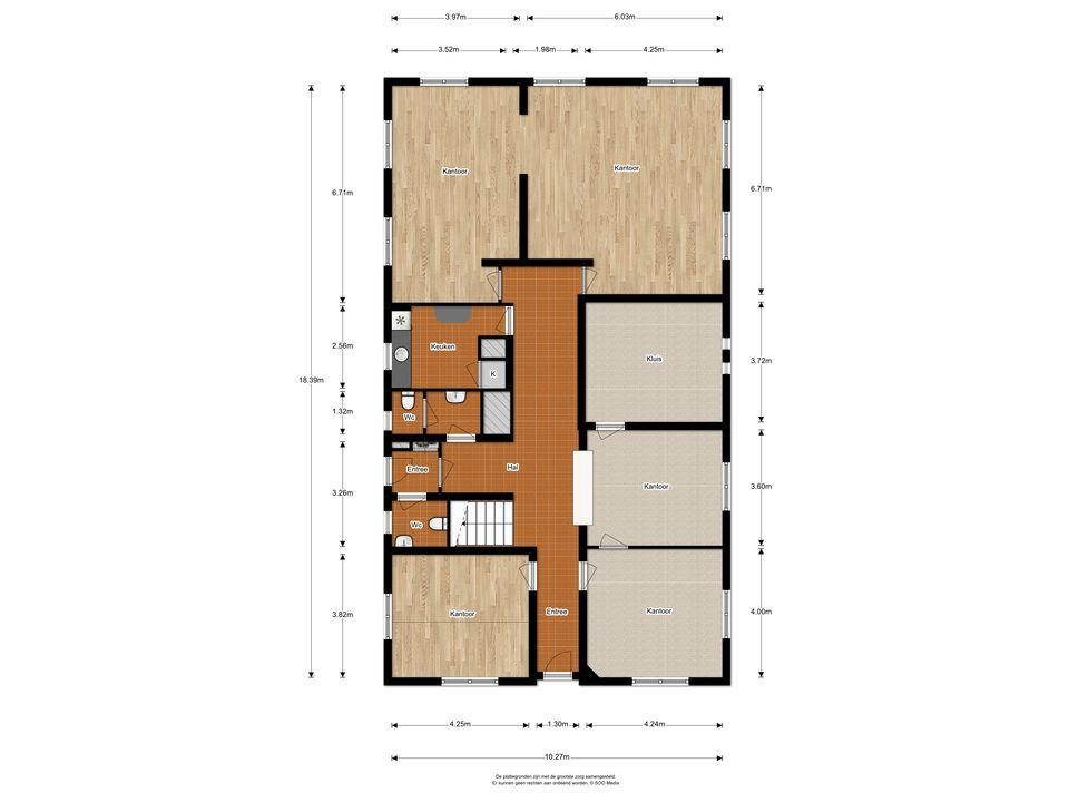 A.H. Kooistrastraat 140, Nieuwveen plattegrond-