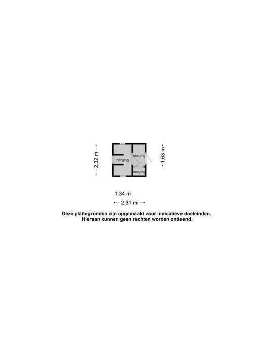 Warandelaan 60, Oosterhout nb plattegrond-