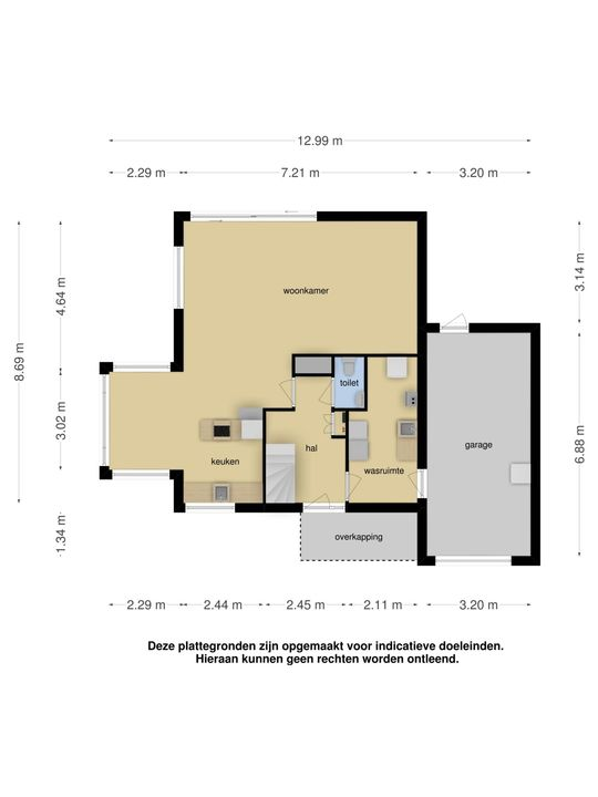 Moleplaat 31, Leeuwarden plattegrond-