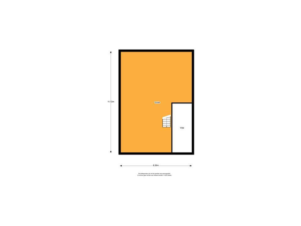 Brink Z.Z. 4, Zuidlaren plattegrond-