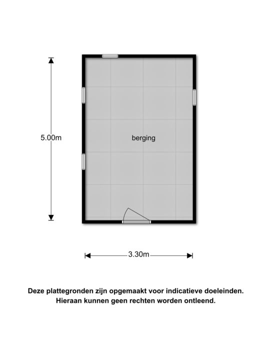 Tjongerpad 3, Delfstrahuizen plattegrond-