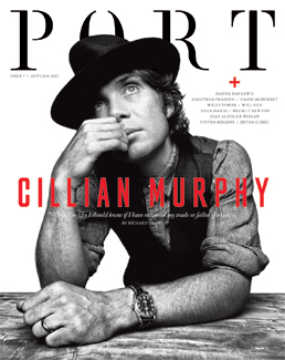 Port Issue 7, featuring cover star Cillian Murphy