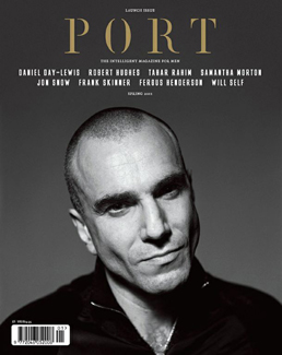 Port issue 1 cover, featuring Daniel Day-Lewis