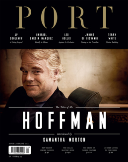 PORT issue 5, featuring Philip Seymour Hoffman
