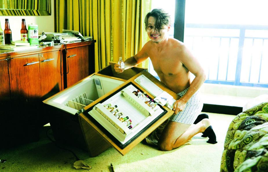 Johnny Depp in a scene from The Rum Diary