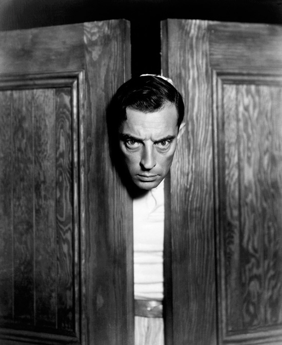 Buster-Keaton, circa 1931, by George Hurrell. Courtesy of Kobal Collection
