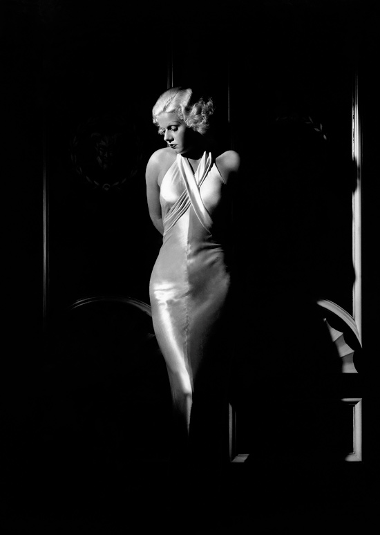 Jean Harlow, circa 1932-35 by George Hurrell. Courtesy of the Kobal Collection