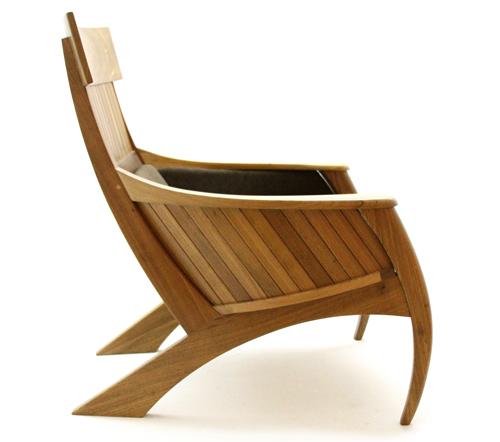 Sabre chair, by Carlos Motta