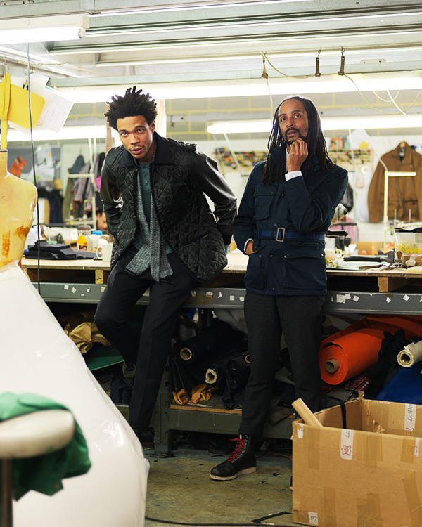 Harris-Elliot-&-Charlie-Casey-wearing-their-Lavenham-jackets