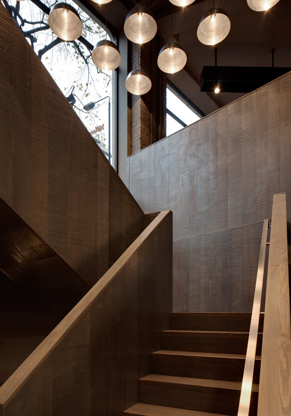 Cassina staircase, London