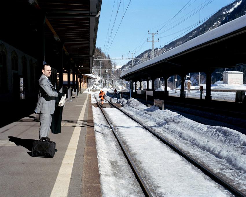waiting for the train to take us to Milan, Thomas Zanon-Larcher