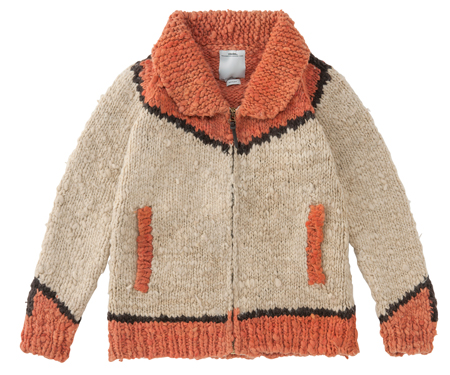 knitted-zip-up-cardigan-in-orange-and-biscuit-