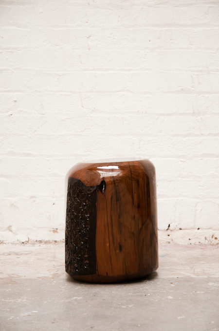 Roey-Hunt wooden stool