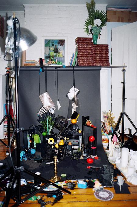 Archive set up, Sara Cwynar Barbara Anastacio