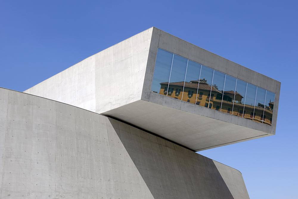 National Museum of the 21st Century Arts, Rome. Photography Bernard Touillon