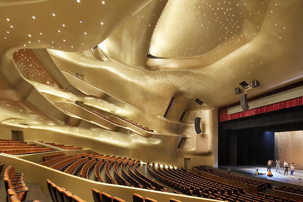 Guangzhou Opera House, Guangdong Province, China. Photography Hufon + Crow