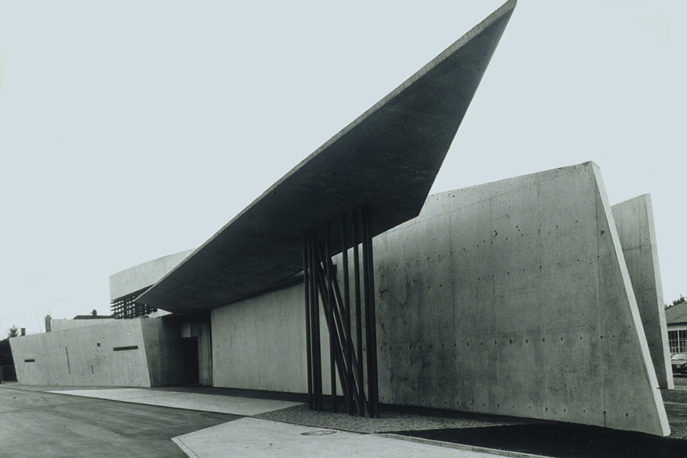 Zaha Hadid Studio, Vitra Fire Station, Weil am Rhien, 1993. Photography Helene Binet