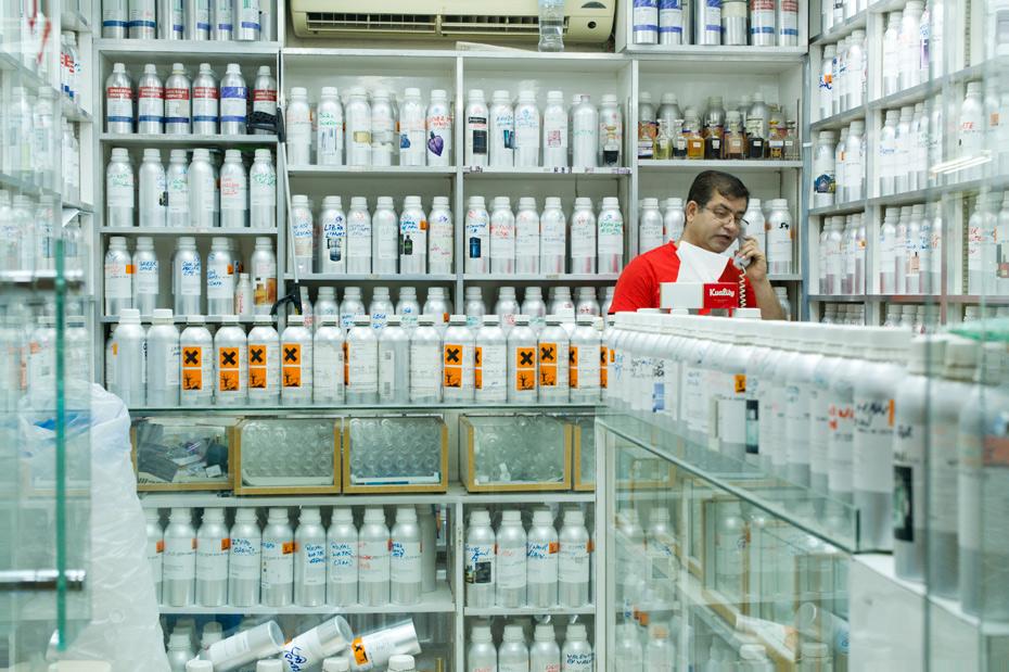 Chemist interior, Kuwait