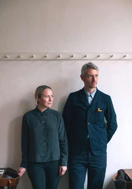 Becky French and Adam Atkinson