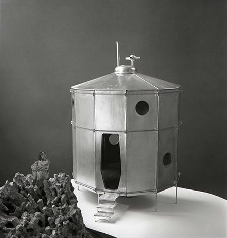 Maquette du Refuge Tonneau 1938