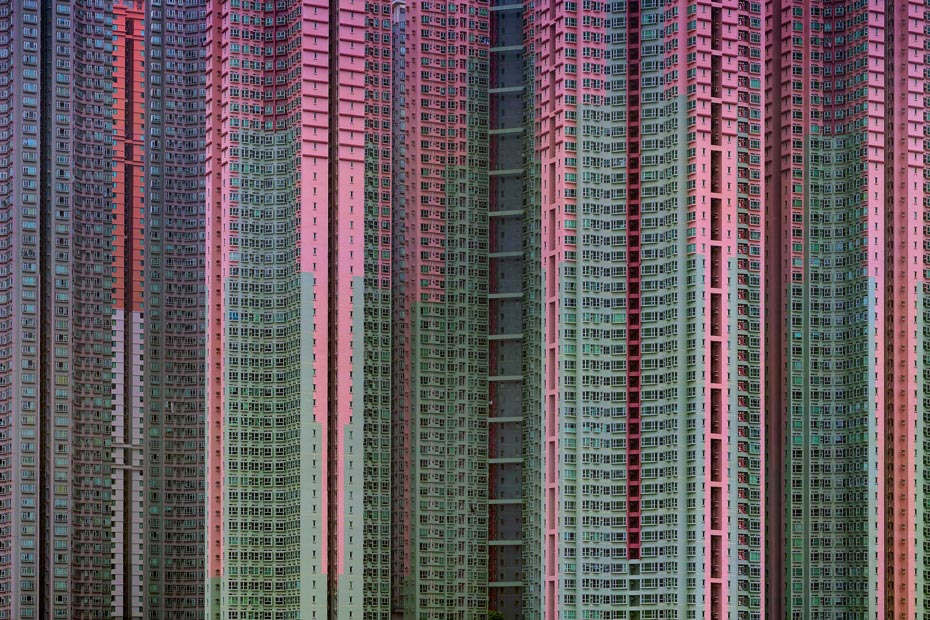 Architecture of Density</em> #39 (c) Michael Wolf, courtesy of Flowers Gallery