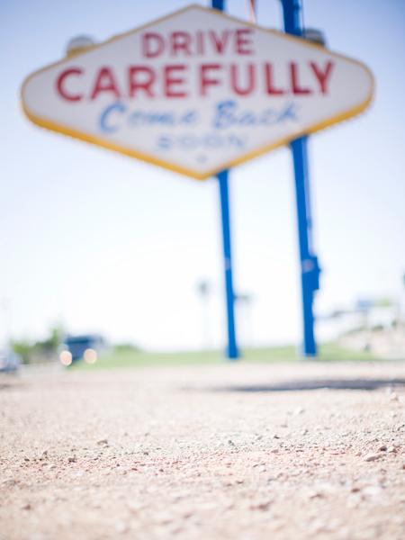 Drive Carefully Vegas David Constable