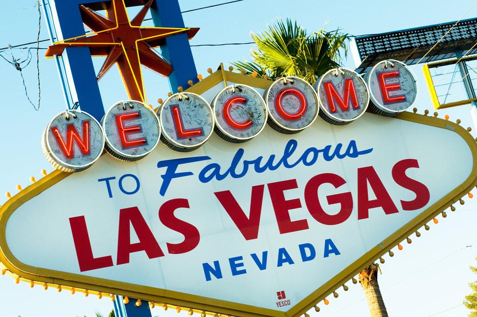 Las Vegas neon sign David Constable