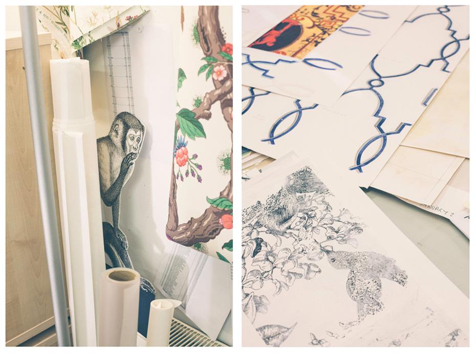At Work: Cole & Son, Wallpaper Designers | PORT Magazine
