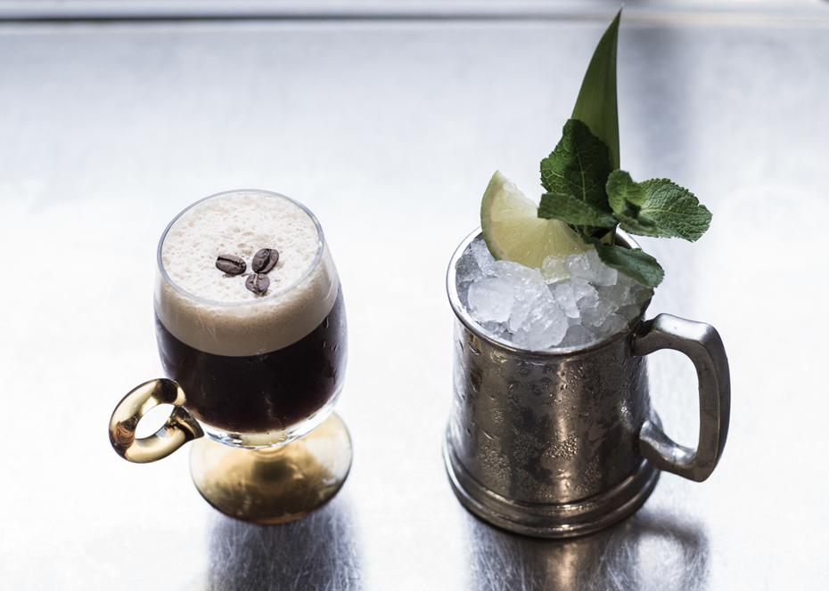 Espresso Martini and Kavahaz cocktail