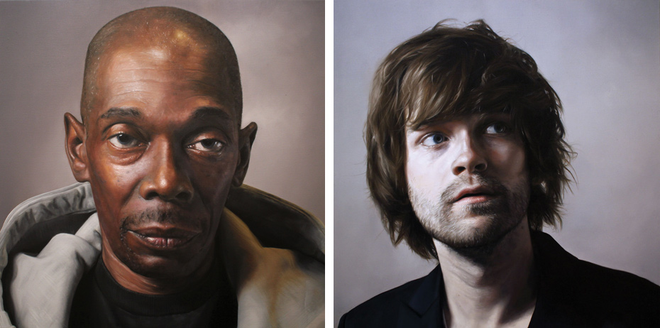 Maxi Jazz and Fyfe Dangerfield, from the <em>Musicians</em> series
