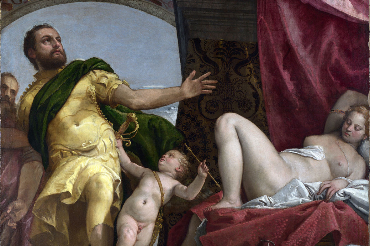 'Allegories of Love - Respect' Paolo Veronese about 1570-5. The National Gallery, London (NG 1325)