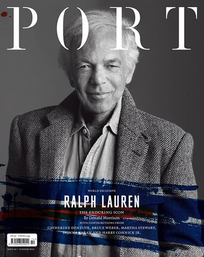 Port 14 cover featuring Ralph Lauren