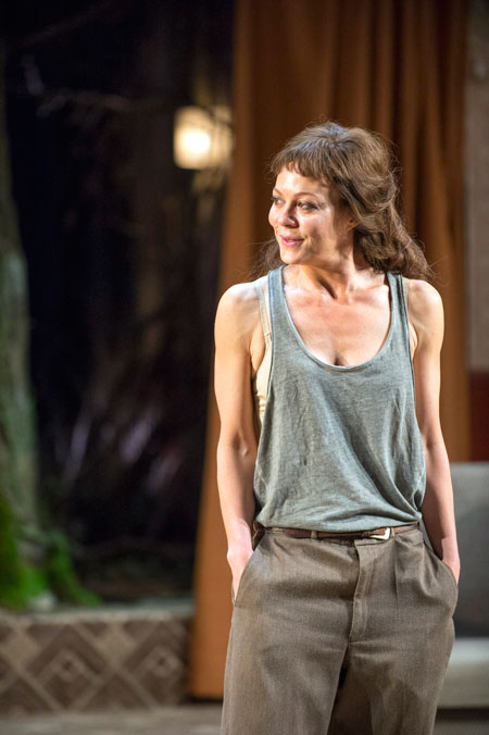 Helen McCrory stars as Medea at the National Theatre. Credit Ricard Hubert Smith