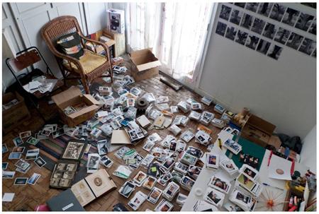 Andre Penteado's studio. Photography Andre Penteado