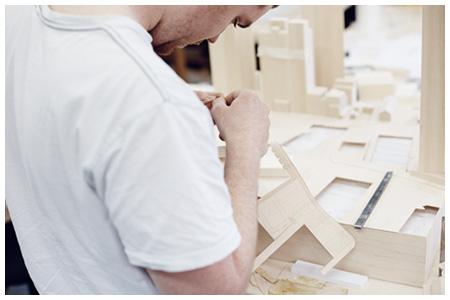 model maker at work