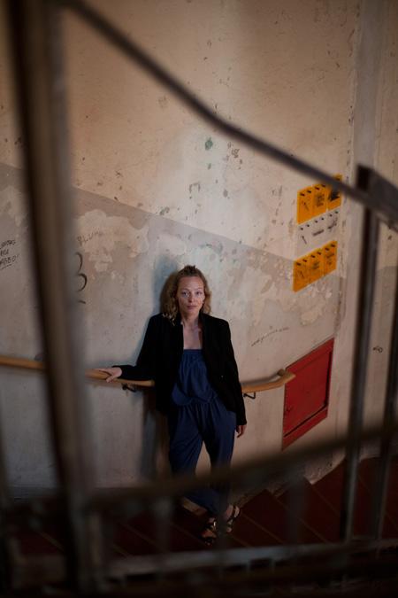 Margret Sara Gudjonsdottir. Photograph Jon Mortimer PORT