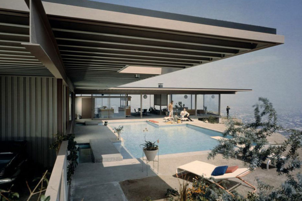 Julius Shulman Case Study House #22, 1960 (Architect: Pierre Koenig) © J. Paul Getty Trust. Used with permission. Julius Shulman Photography Archive, Research Library at the Getty Research Institute (2004.R.10)