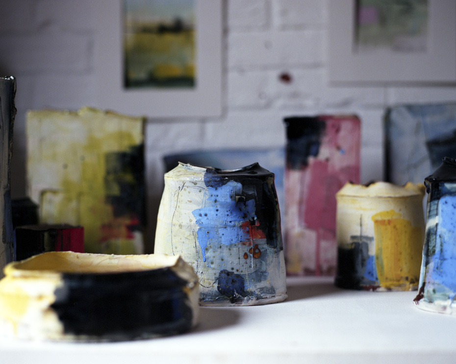 James Rawling, shoot Barry Steadman ceramicist, PORT
