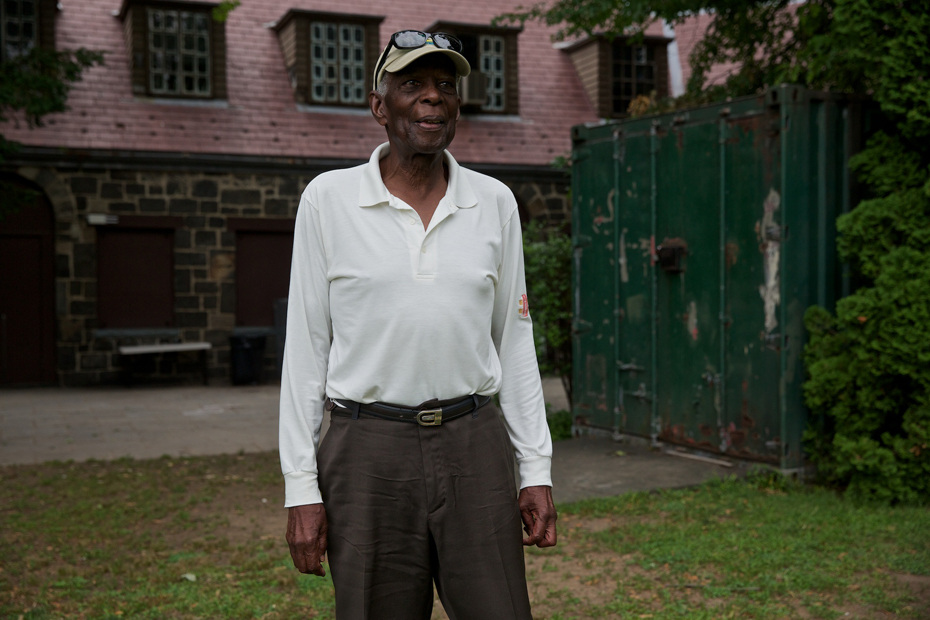 Clarence Modeste, president of the Staten Island Cricket Club