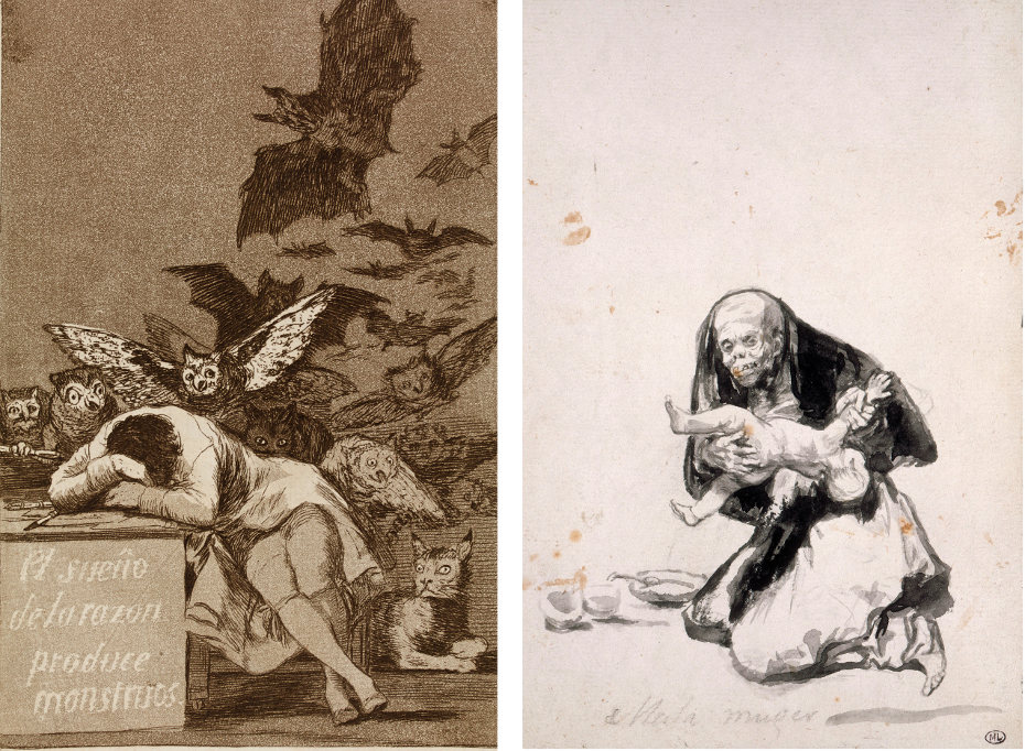 Goya – The Witches and Old Women 1
