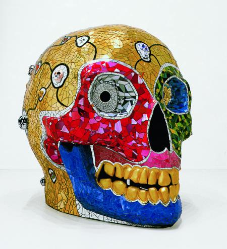 Skull (Meditation Room), 1990