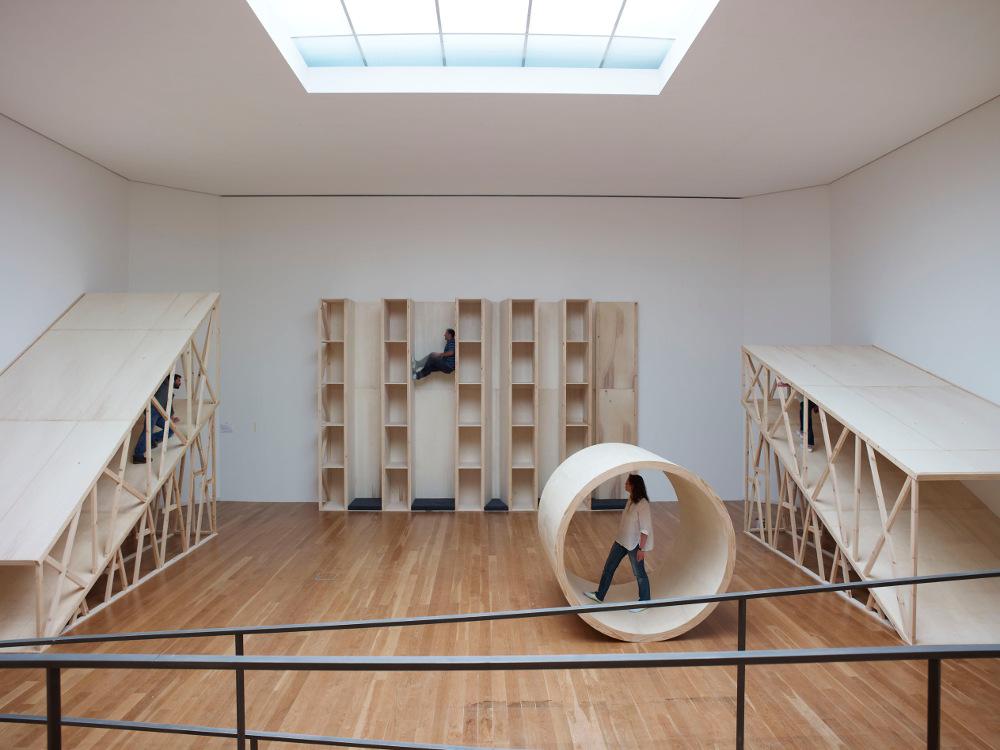 Robert Morris Exhibition, Serralves Museum, November 2011