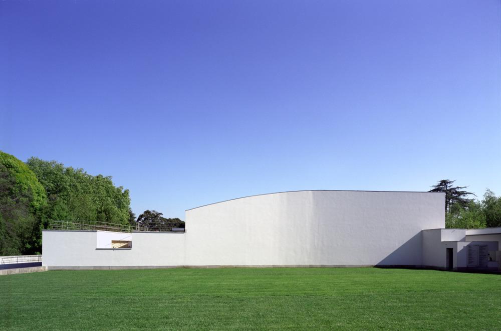 Serralves Museum Exterior Auditorium Wall