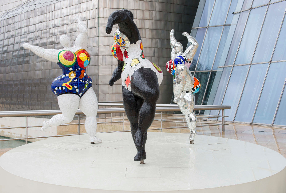 The Three Graces, Guggenheim Museo Bilbao, 1995
